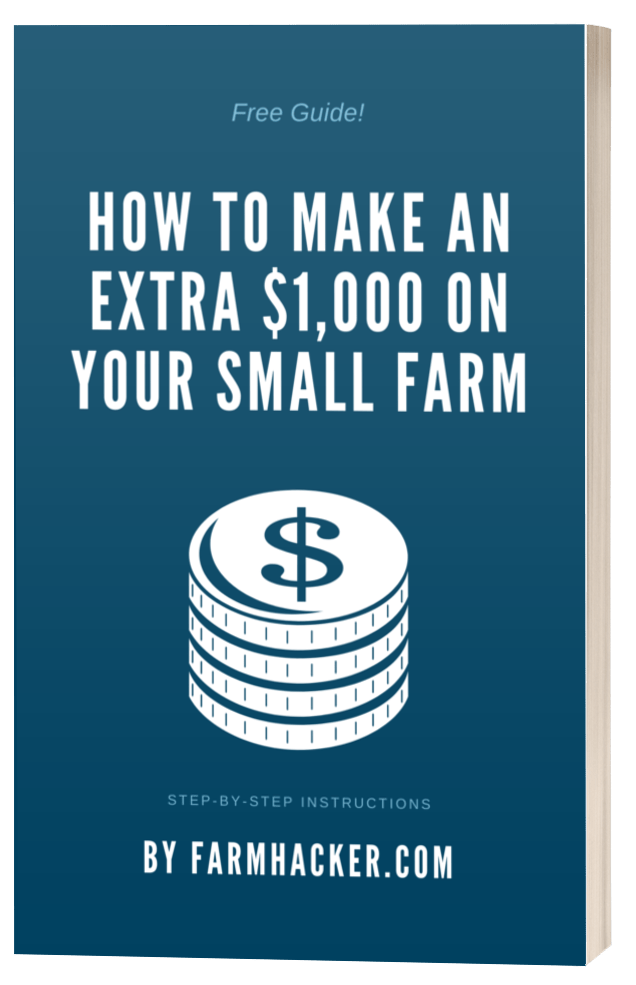 How to Make an Extra $1000 on Your Small Farm eBook Cover