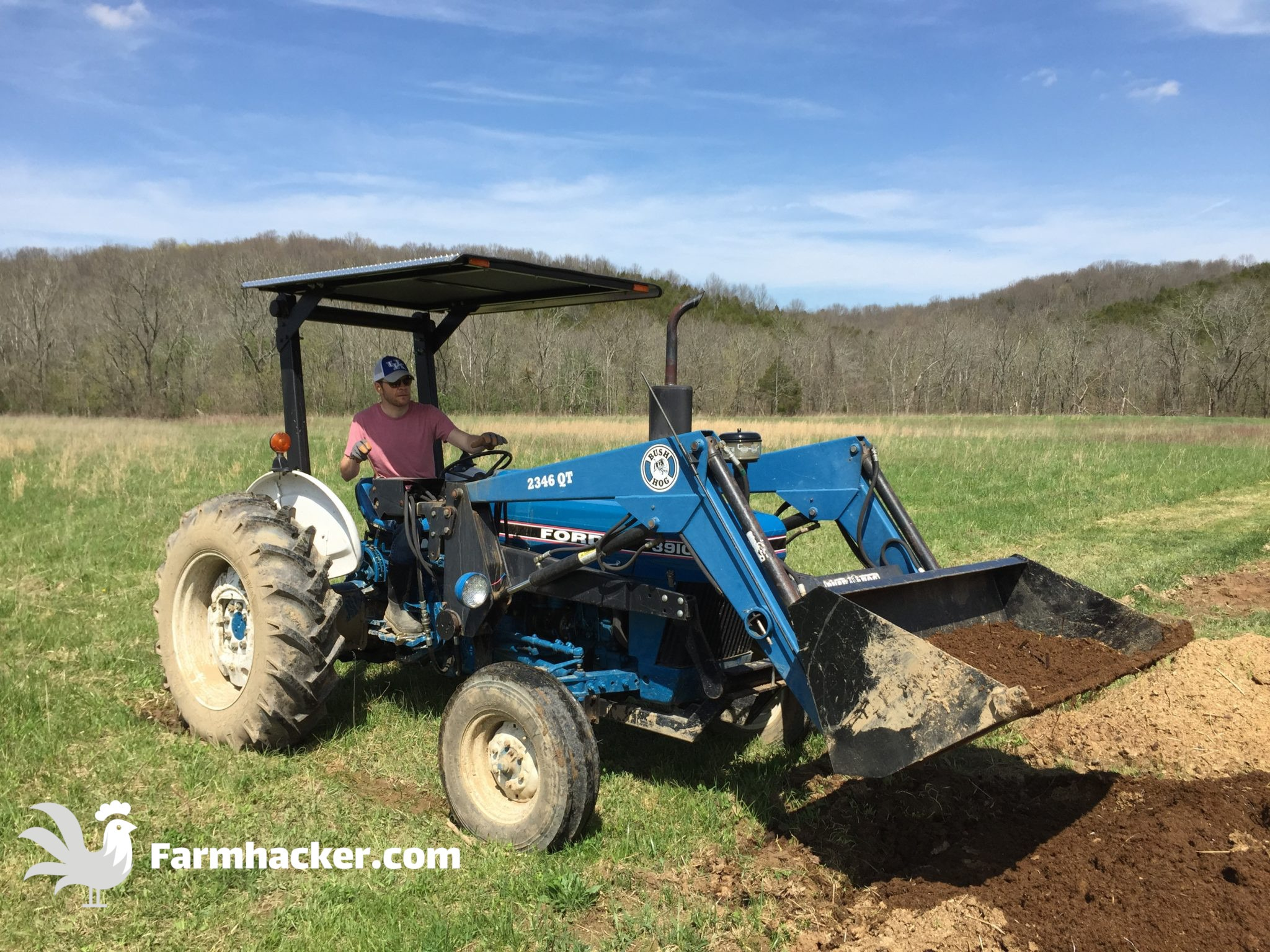 Casey on the Tractor - How to Start a Farm Farming Guide