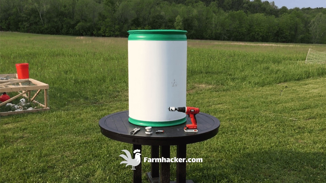 Building an Automatic Pig Waterer