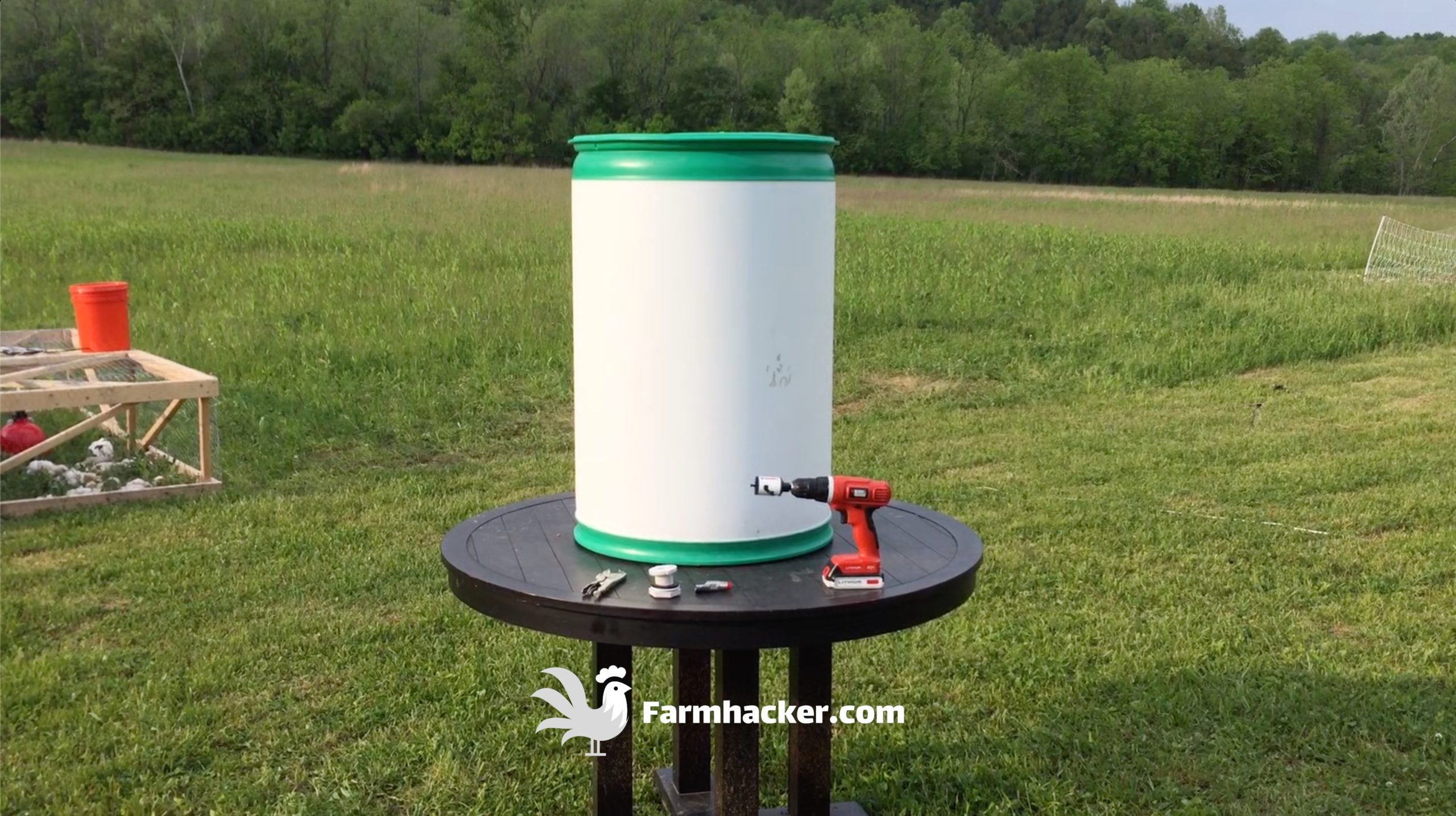 How to Make an Automatic Pig Waterer Drinker