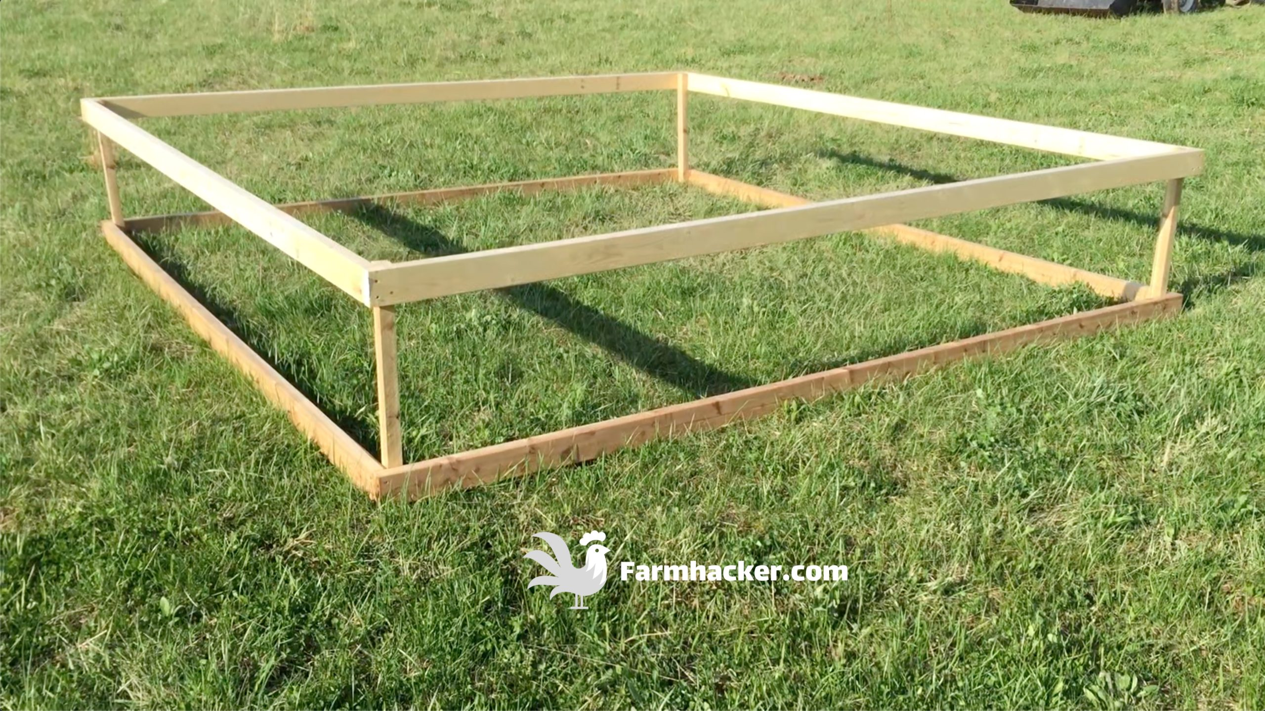 How to Build a Joel Salatin Style Chicken Tractor Step 1