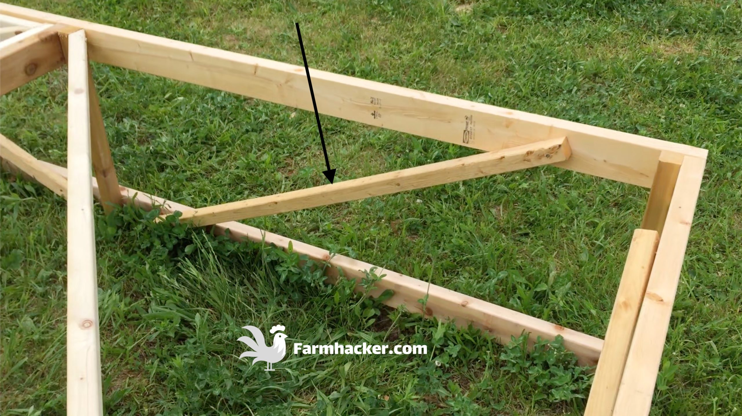 How to Build a Joel Salatin Style Chicken Tractor Step 2.3