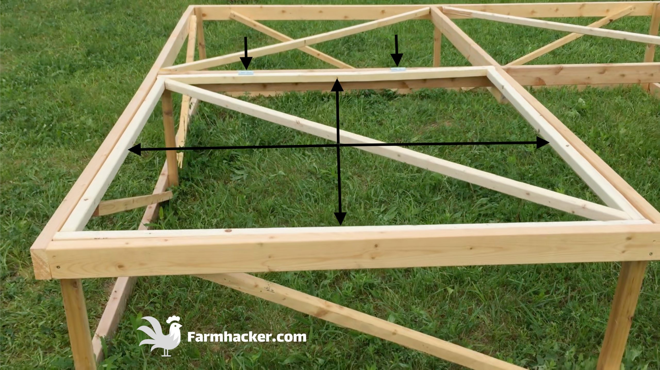 How to Build a Joel Salatin Style Chicken Tractor Step 3.1