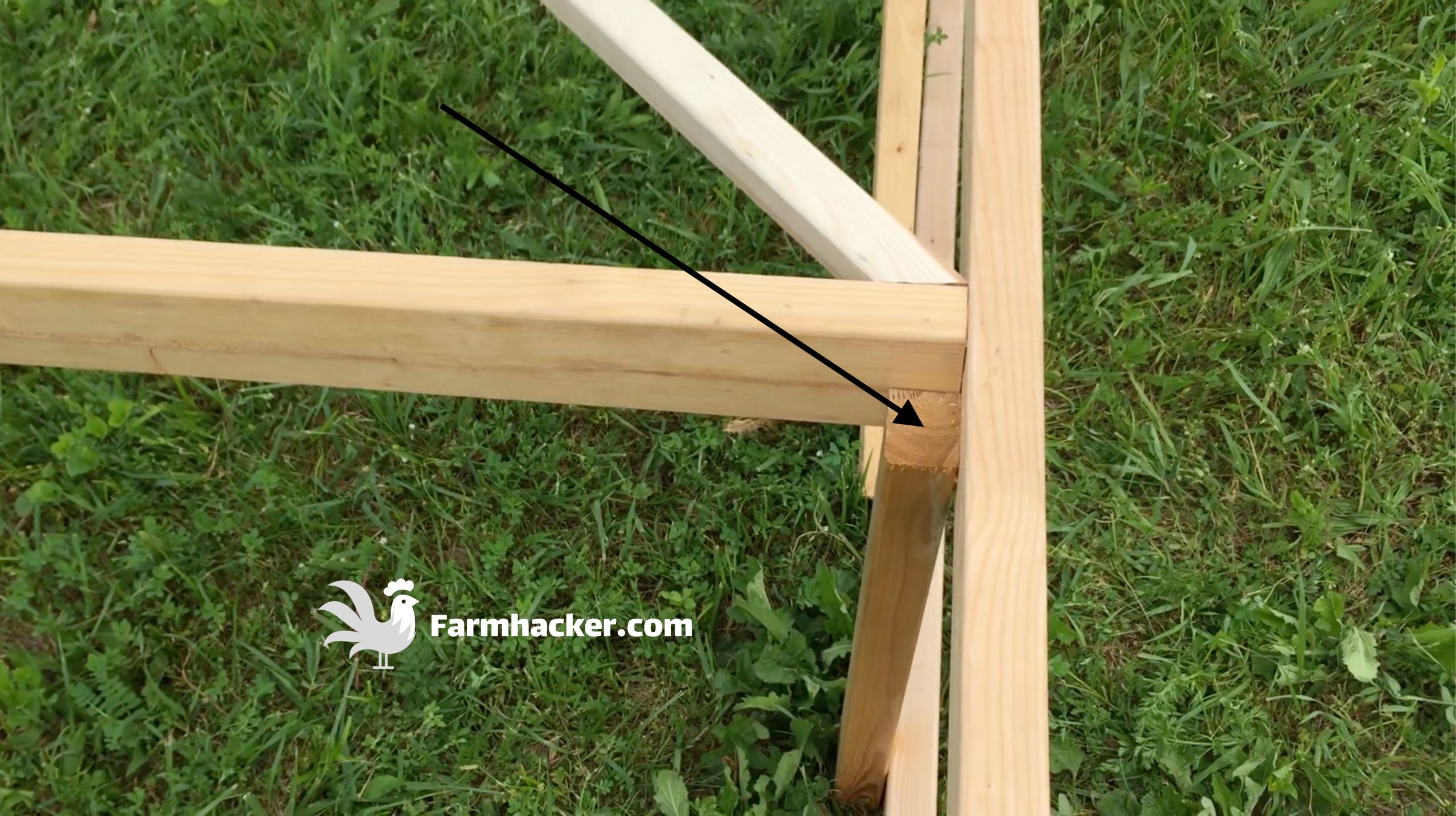 How to Build a Joel Salatin Style Chicken Tractor Step 3.2