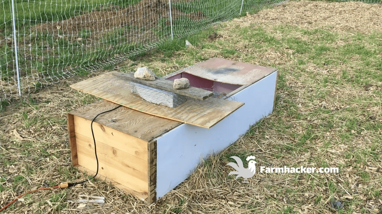 How to Build a Chicken Brooder out of Almost Anything & Use It as a Mini Chicken Tractor