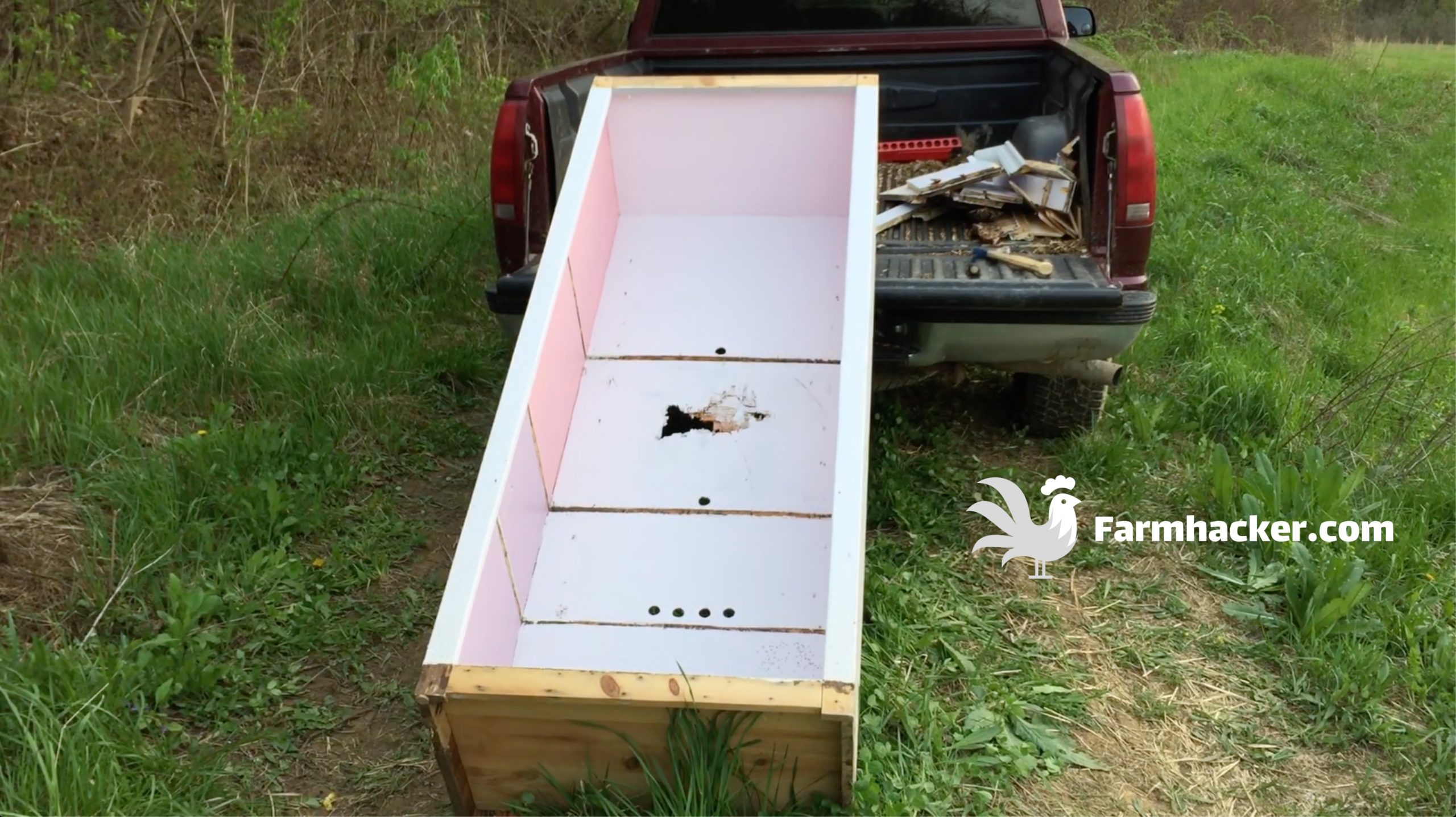 How to Build a Chicken Brooder Step 2