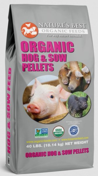 Nature's Best Organic Pig Feed Bag