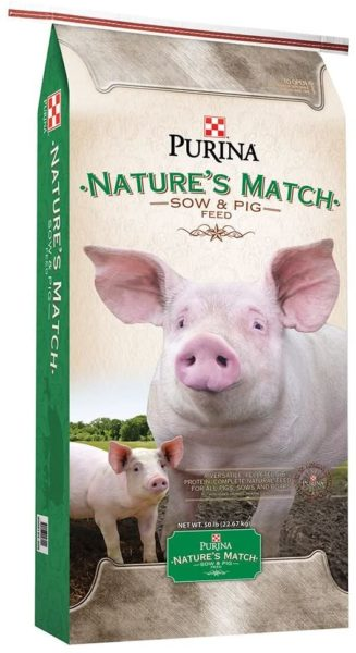 Purina Nature's Match Pig Feed Bag
