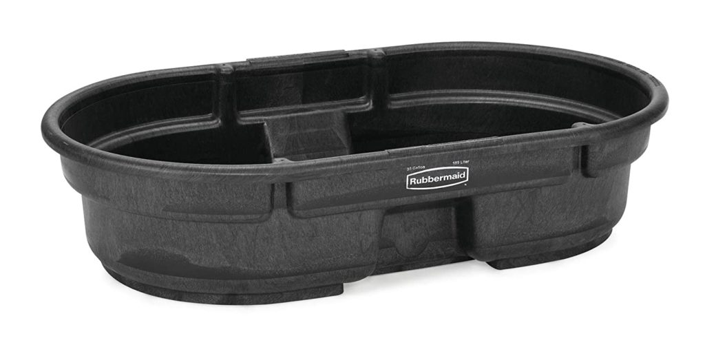 The Best Pig Waterer Trough Made by Rubbermaid