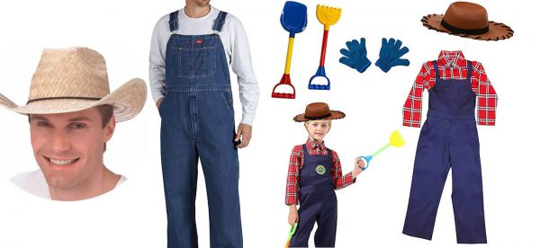 3 BEST Farmer Costumes for Men, Women & Kids in 2020