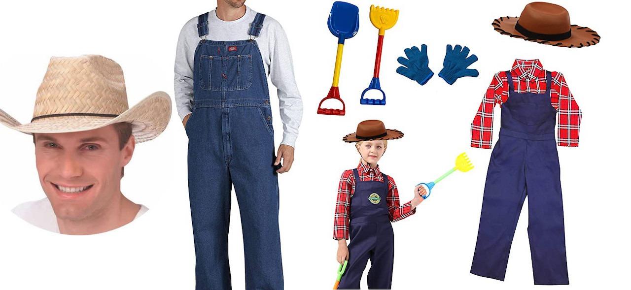 3 BEST Farmer Costumes for Men, Women & Kids in 2020